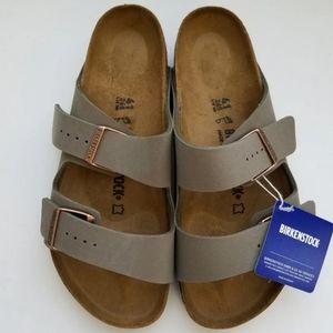 Birkenstock Arizona Stone Gray Sandals 41